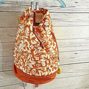 Gap Bags - Gap Backpack Orange & White School Bucket Bag